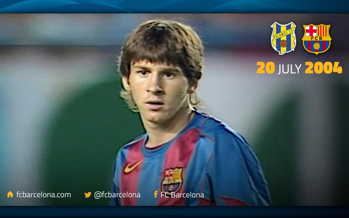 The story behind Leo Messi's first ever goal for FC Barcelona