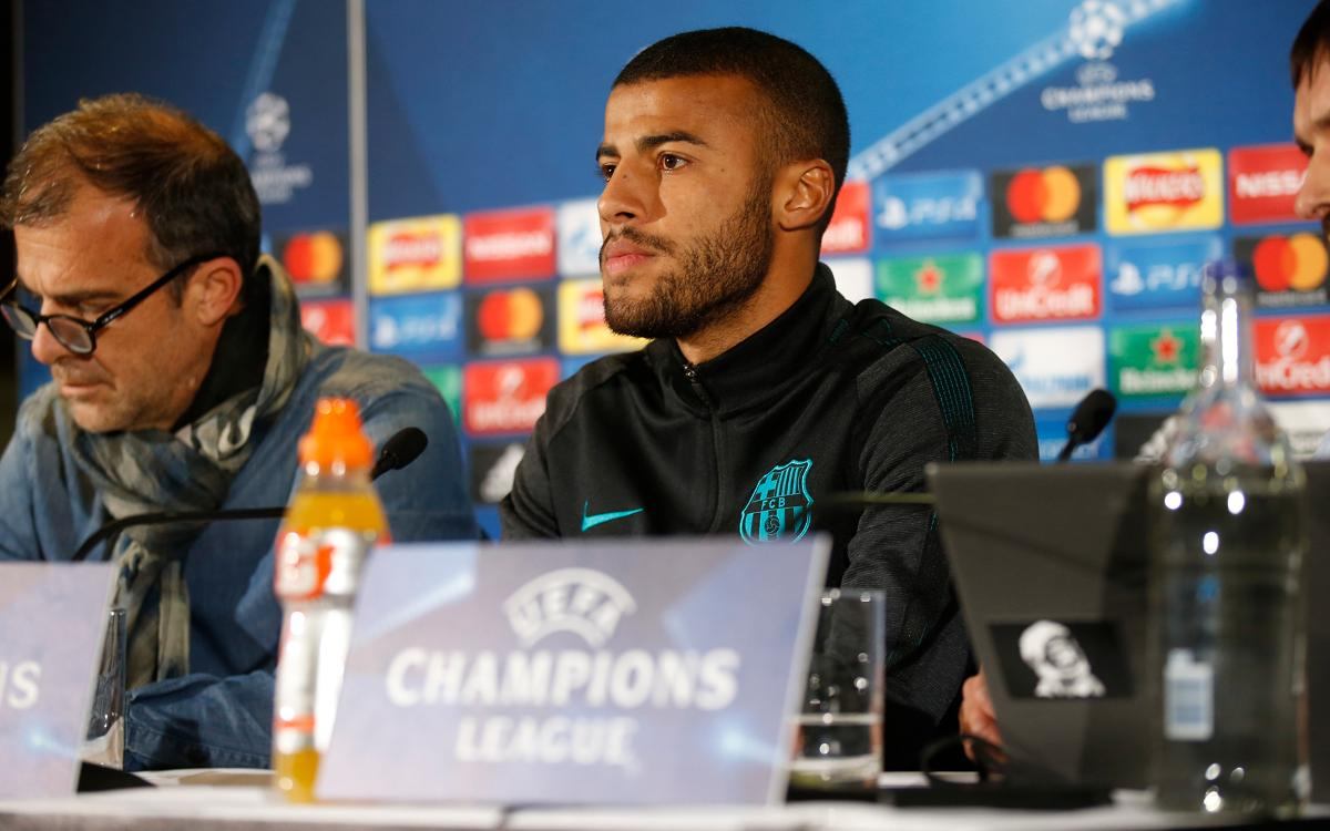 Rafinha: Qualifying is the biggest motivation