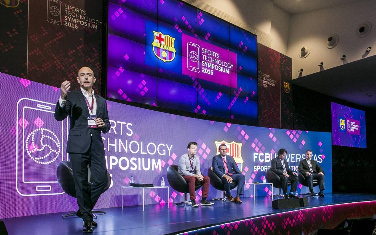 El segundo Sports Technology Symposium del FC Barcelona se clausura convertido en preferencia del sector