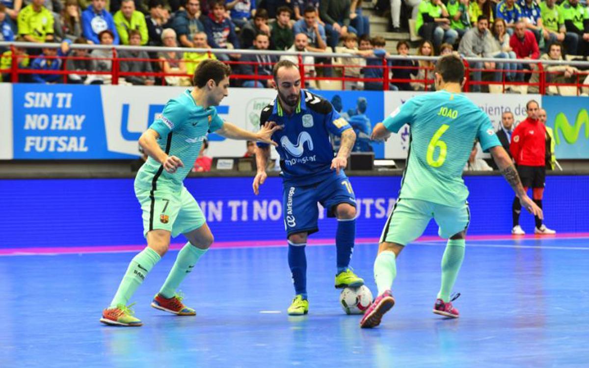Movistar Inter v FC Barcelona Lassa: We are top of the league! (3-4)
