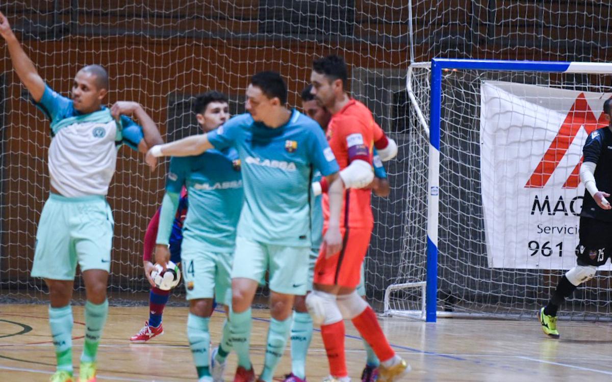 Levante 1-5 FC Barcelona Lassa: Emphatic victory