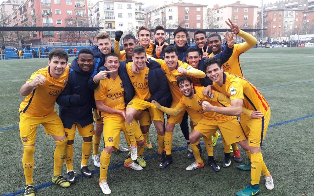 CD Ebro - Barça B: ¡Campeones de invierno! (1-2)