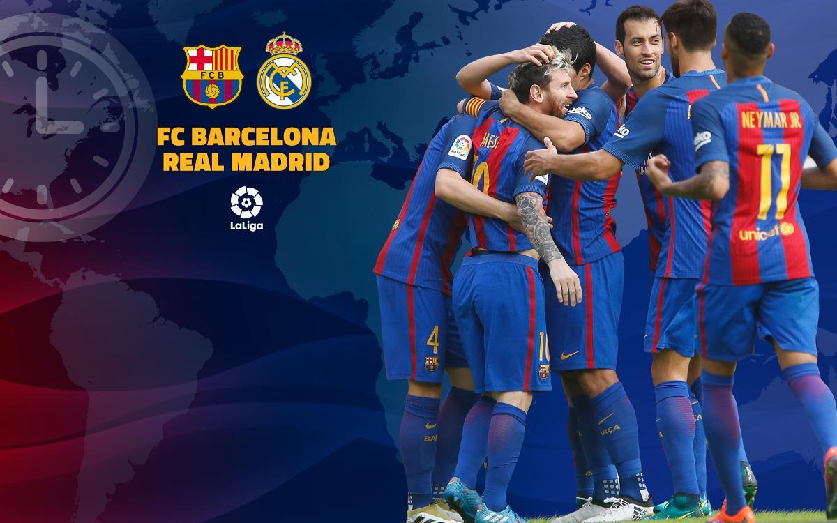 Où et quand voir FC Barcelone - Real Madrid, le Clasico de la Liga