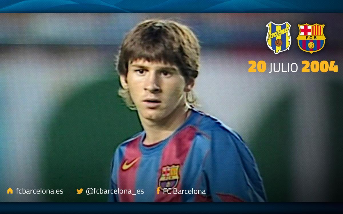 La intrahistoria del primer gol de Messi con el FC Barcelona