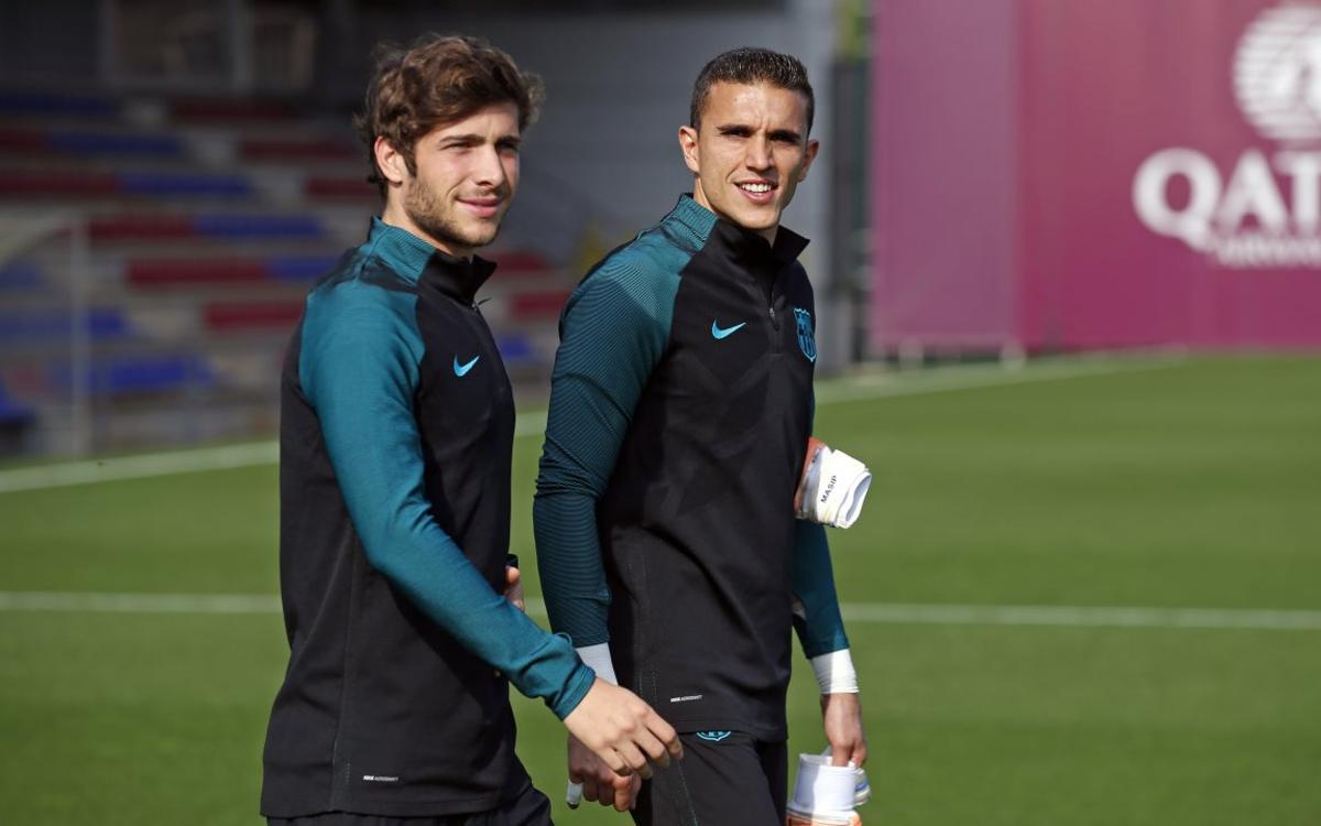 Masip y Sergi Roberto, titulares en el Catalunya-Túnez (3-3)