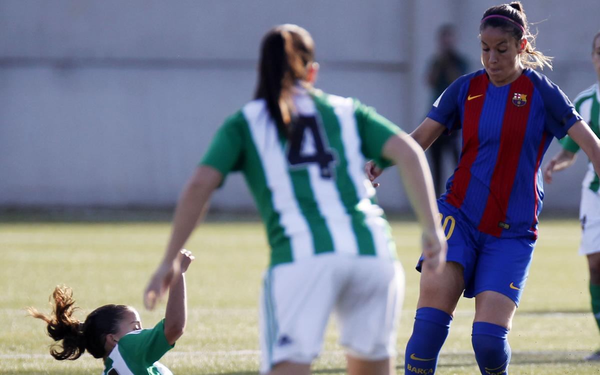 Betis 1-1 FC Barcelona: First league points dropped