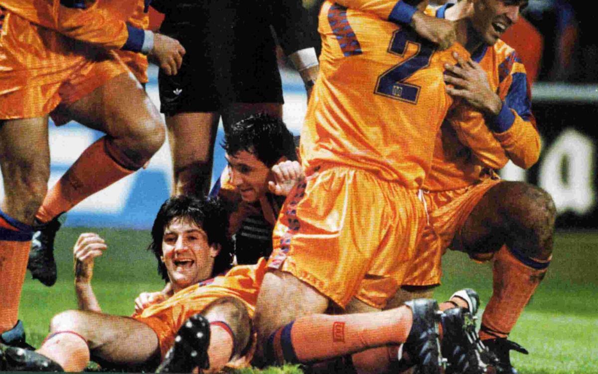 25 years since Bakero's legendary goal against Kaiserslautern