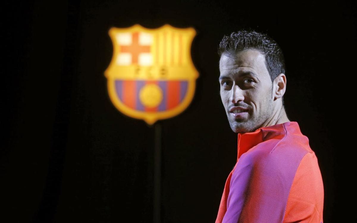 Sergio Busquets: 400 appearances and looking forward to plenty more