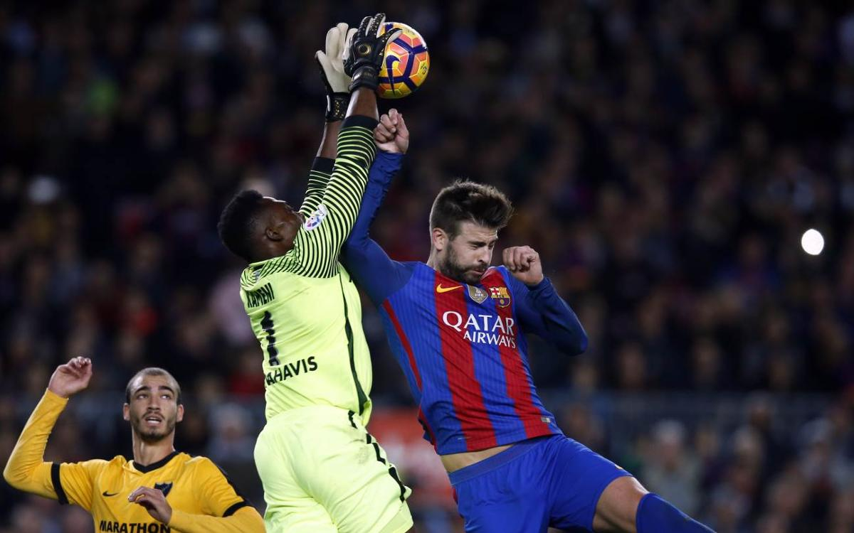 FC Barcelone - Malaga : Le Barça tombe sur un mur andalou (0-0)