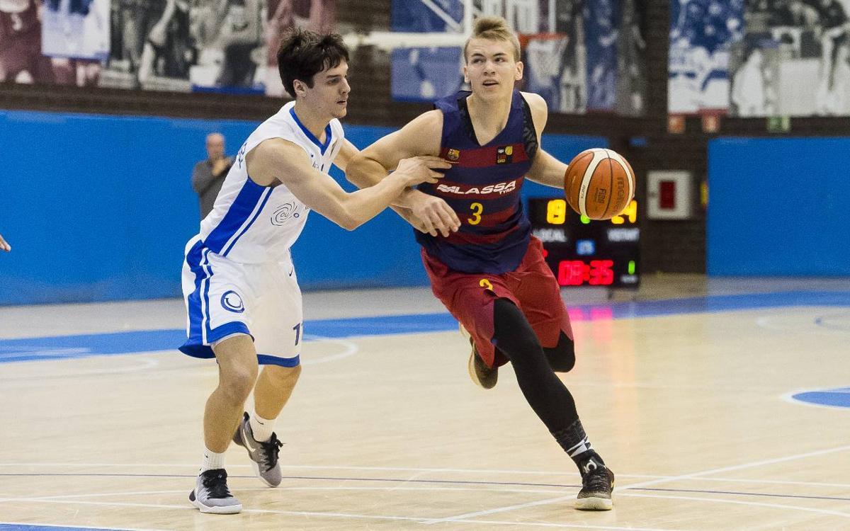 FC Barcelona Lassa B - Ourense: Los triples visitantes condenan a los azulgrana (70-79)