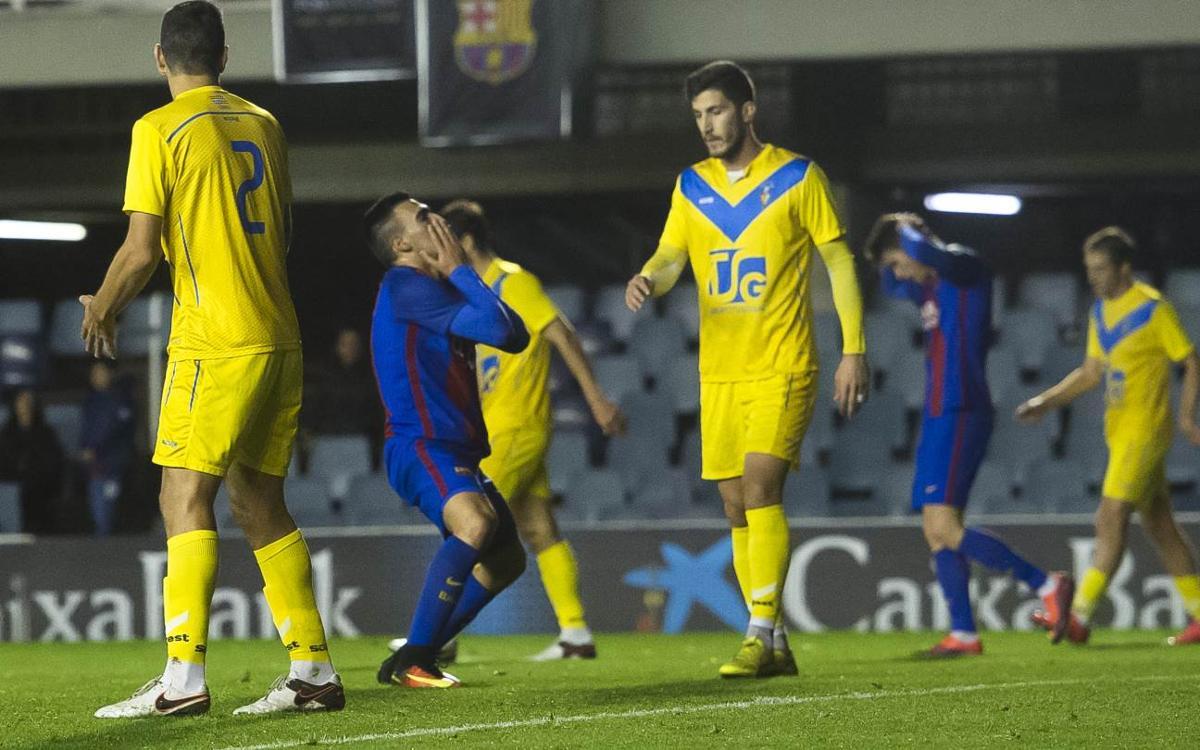 FC Barcelona B – CF Badalona: Ratxa frenada (1-3)