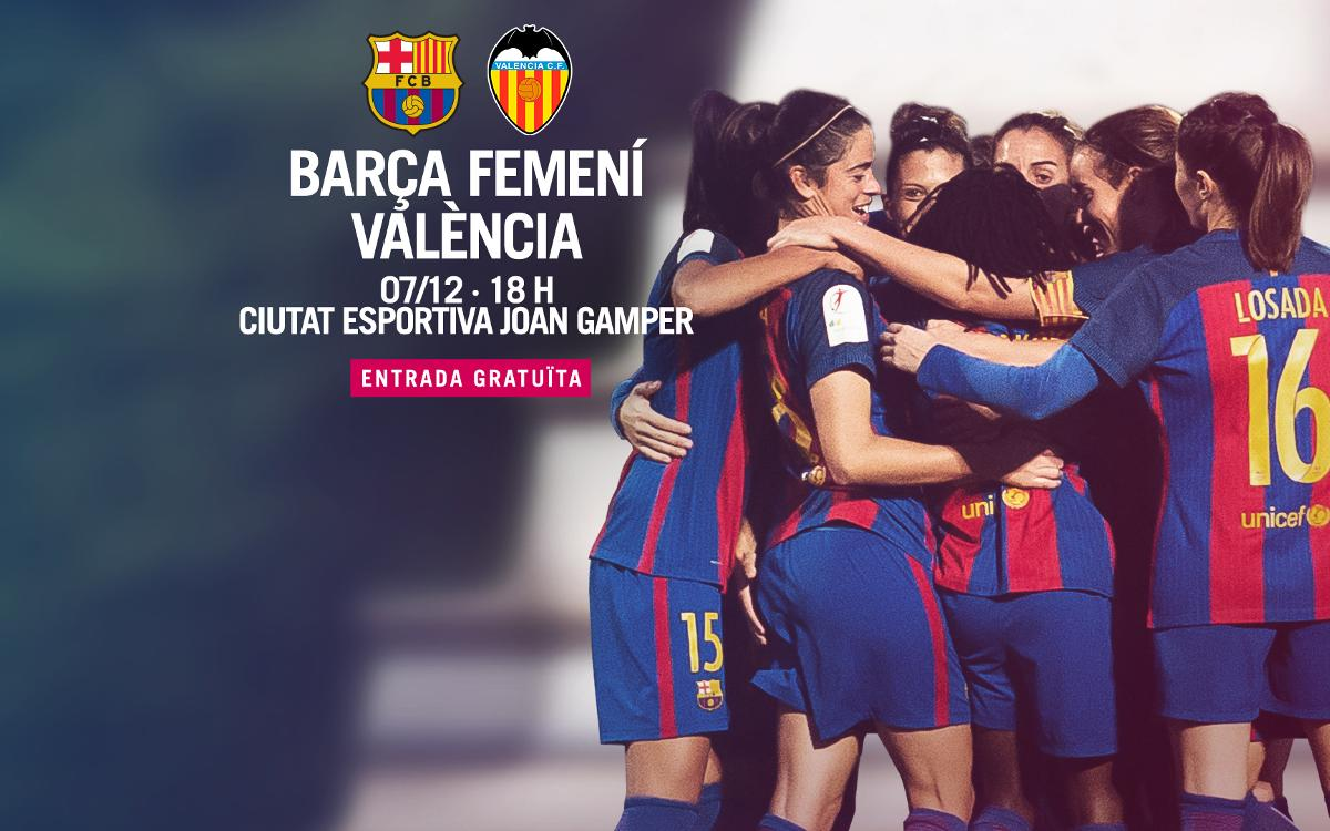 FC Barcelona Femenino - Valencia CF (previa): La primera piedra