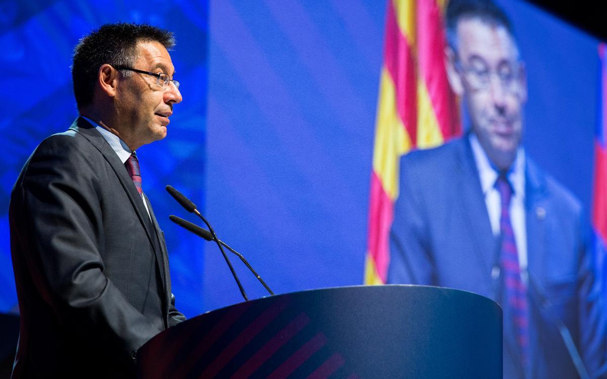 Josep Maria Bartomeu estará con la Gran Penya de Tarragona i Provincia en su 50 aniversario