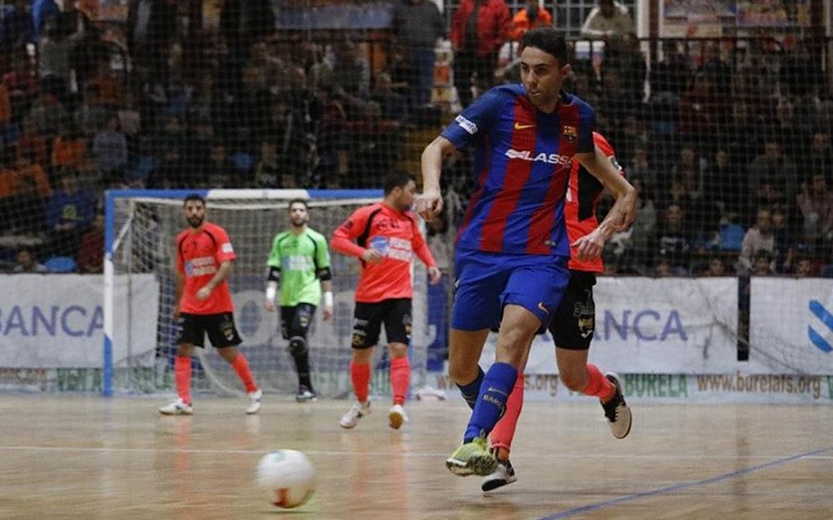 Pescados Rubén Burela 1-5 FC Barcelona Lassa: Brilliant second half maintains 100 per cent record