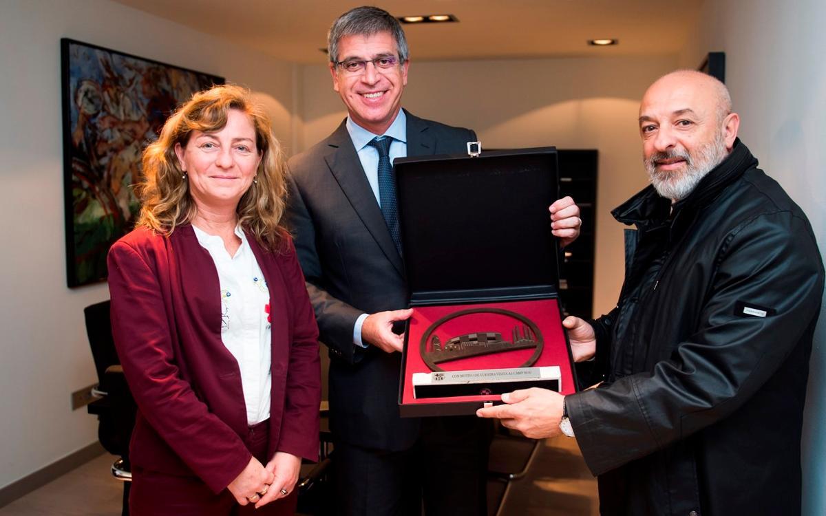 Jordi Mestre rep una delegació de la ciutat de Rosario