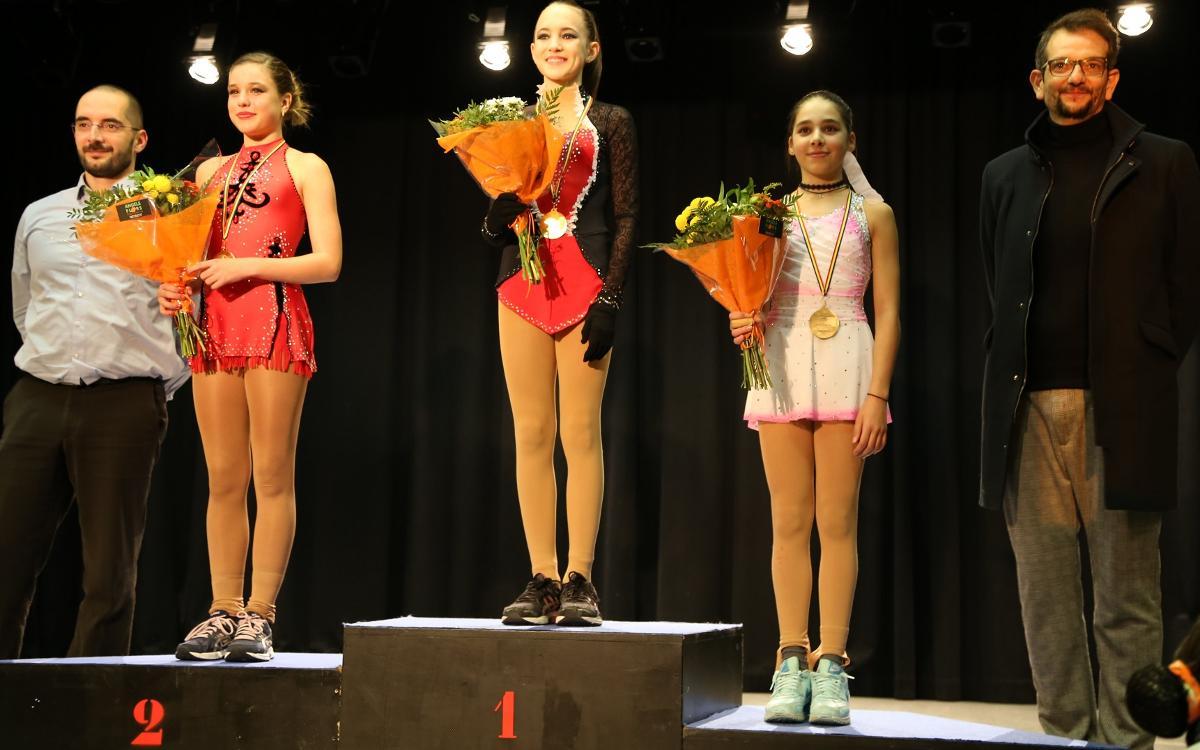 Fanny Maria s'imposa en la categoria Basic Novice a l'Open d'Andorra