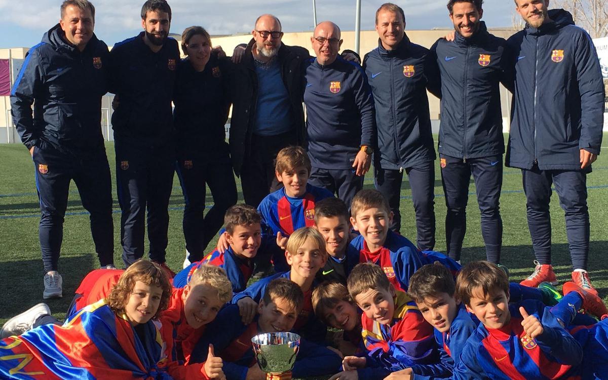 L'Aleví C guanya la Power Gol Cup