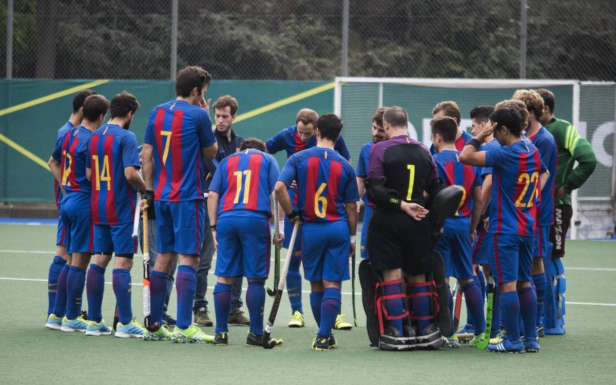 El Barça d'hoquei herba finalitza la primera volta en vuitena posició i classificat per a la Copa del Rei