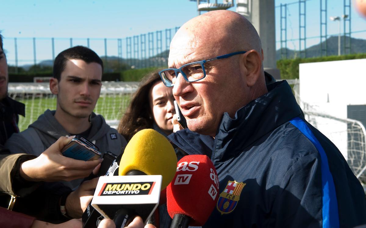 """Xavi Llorens: """"L'equip està creixent a tots els nivells"""""""