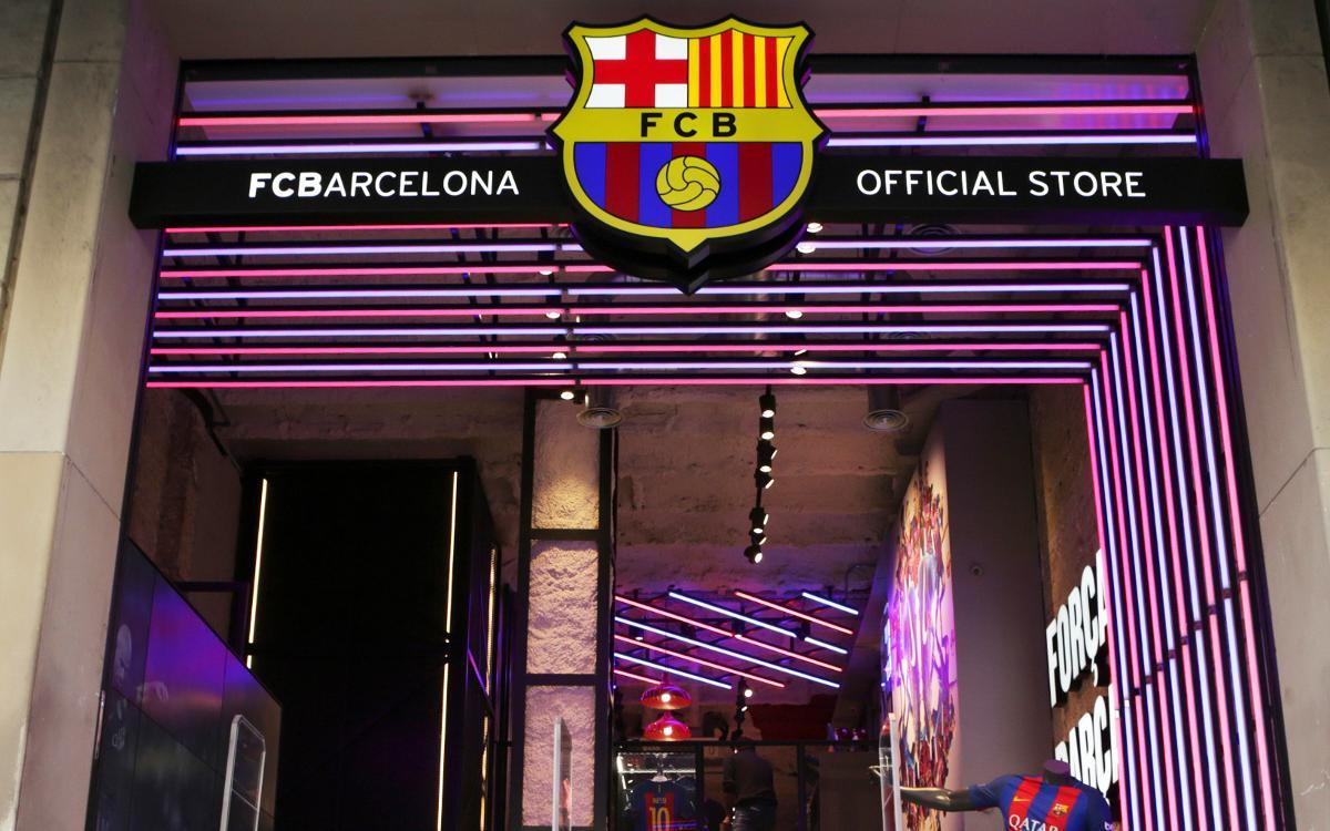 El FC Barcelona abre una tienda en el centro de Barcelona de la mano de Nike
