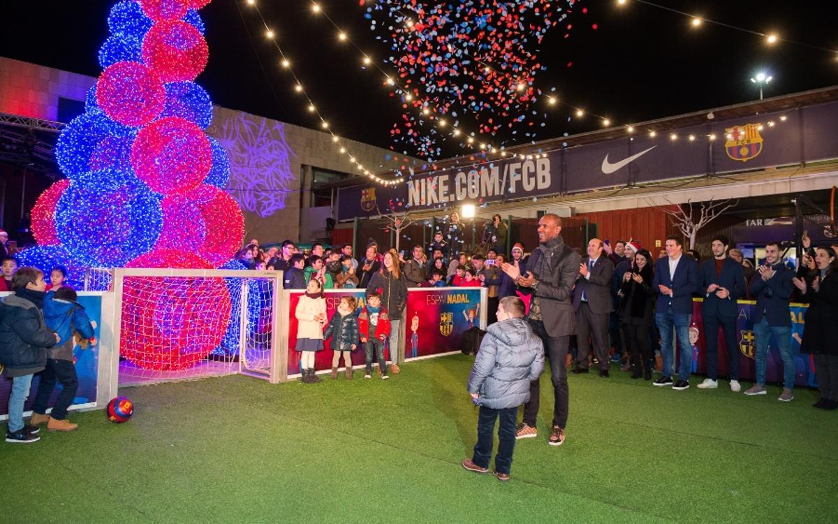 Inaugurat l'Espai Nadal del Camp Nou
