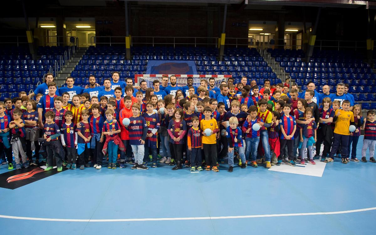 FC Barcelona Lassa celebrate 100-match win-streak