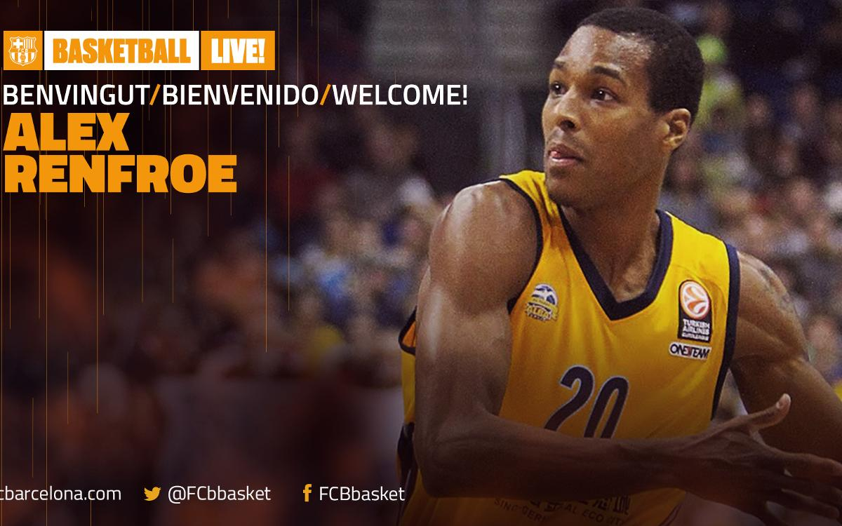 FC Barcelona Lassa sign point guard Alex Renfroe