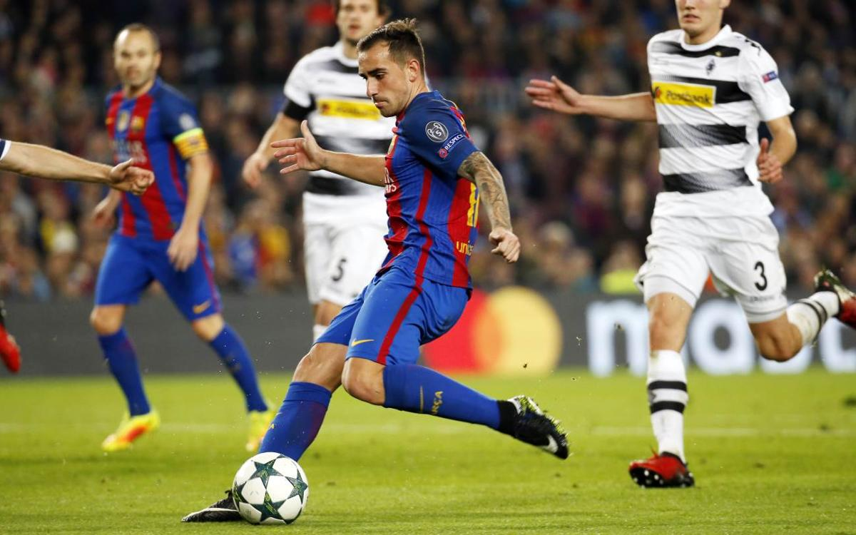By the numbers: FC Barcelona 4-0 Borussia Mönchengladbach