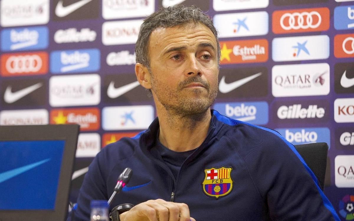 FC Barcelona manager Luis Enrique: Osasuna is no ordinary game