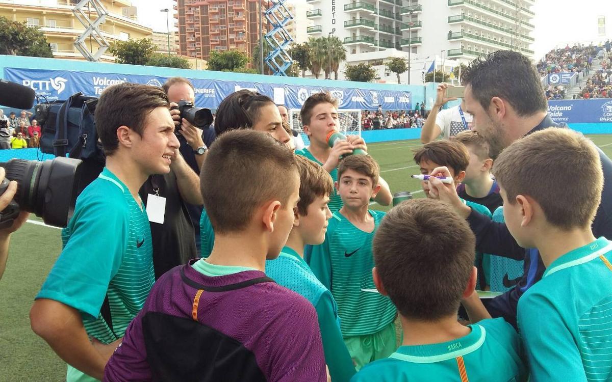 """Sergi Milà: """"Aquest és un èxit de tot l'equip"""""""