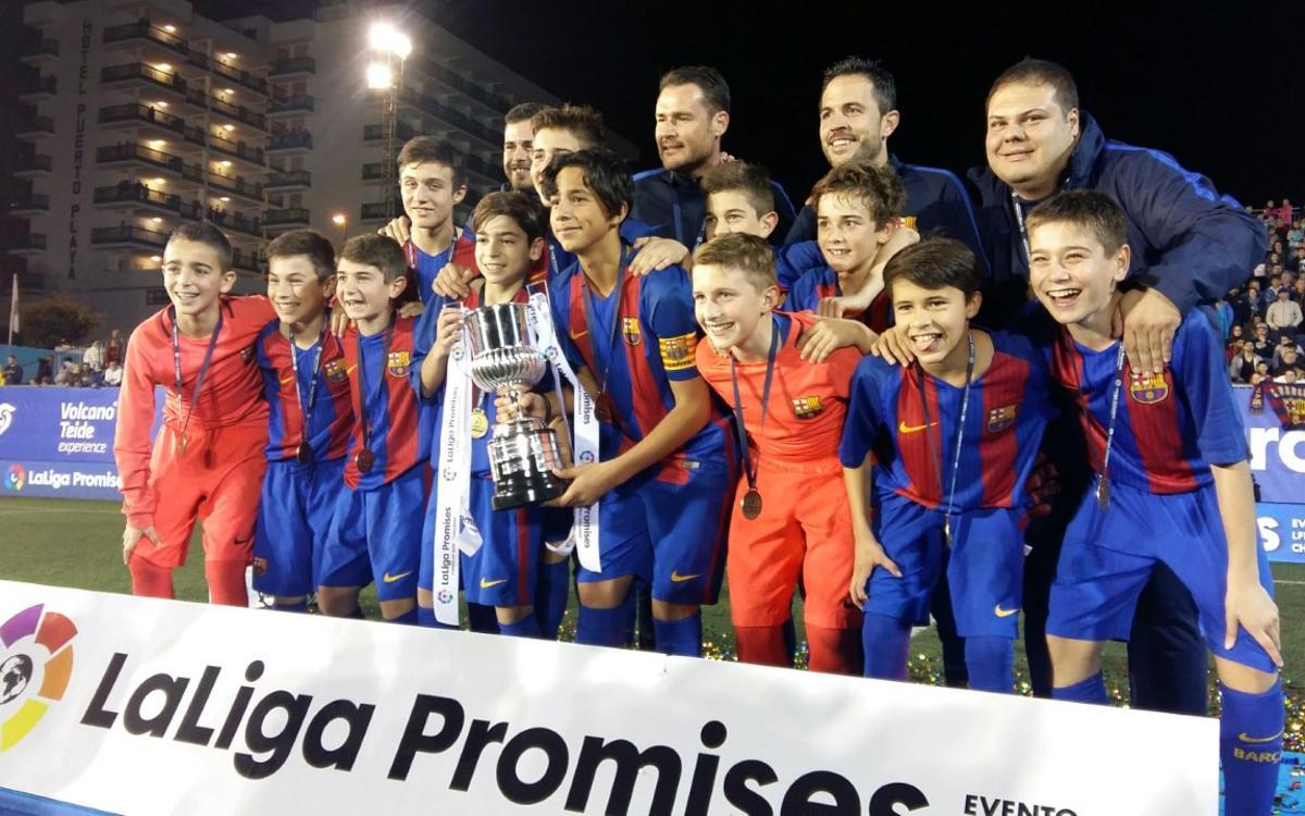 LaLiga Promises Final: FC Barcelona 6-1 Atlético Madrid