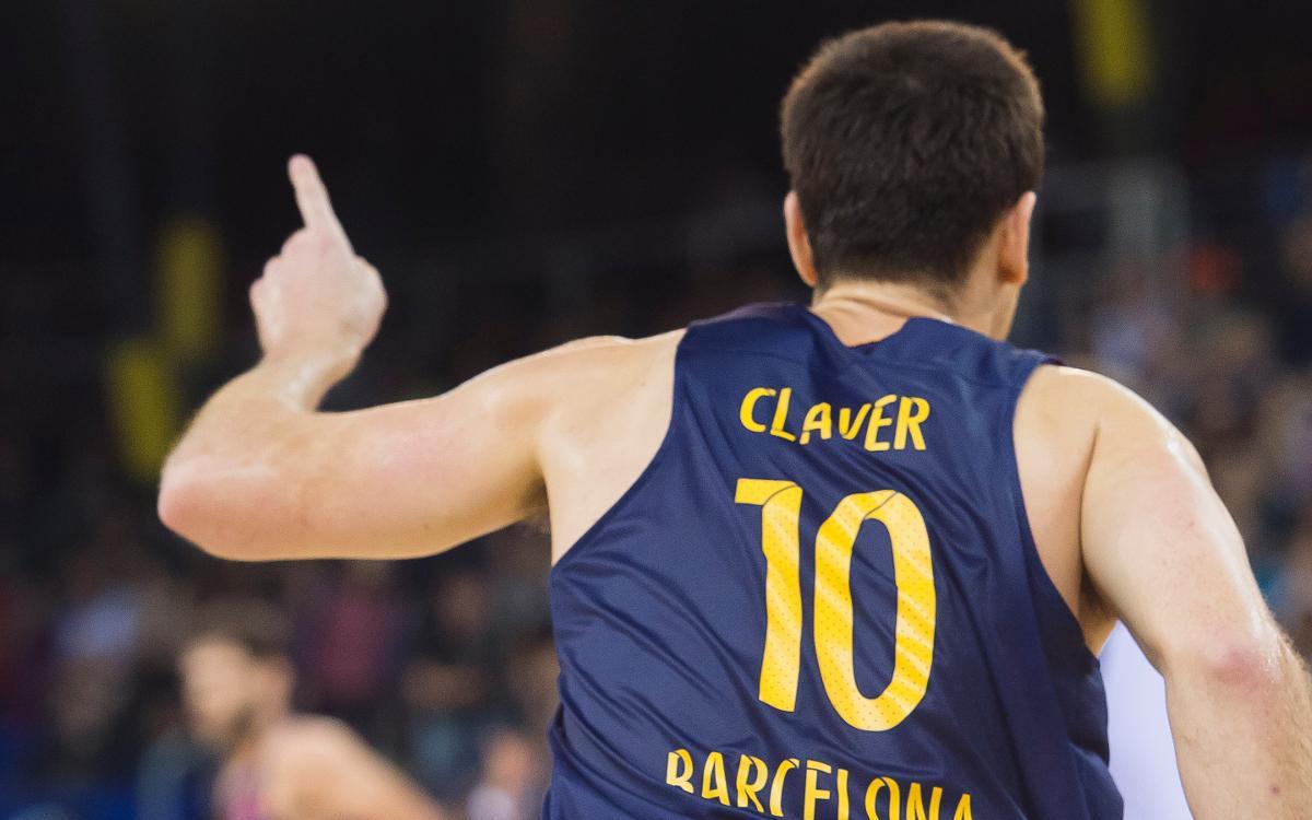 Víctor Claver, quatre setmanes de baixa