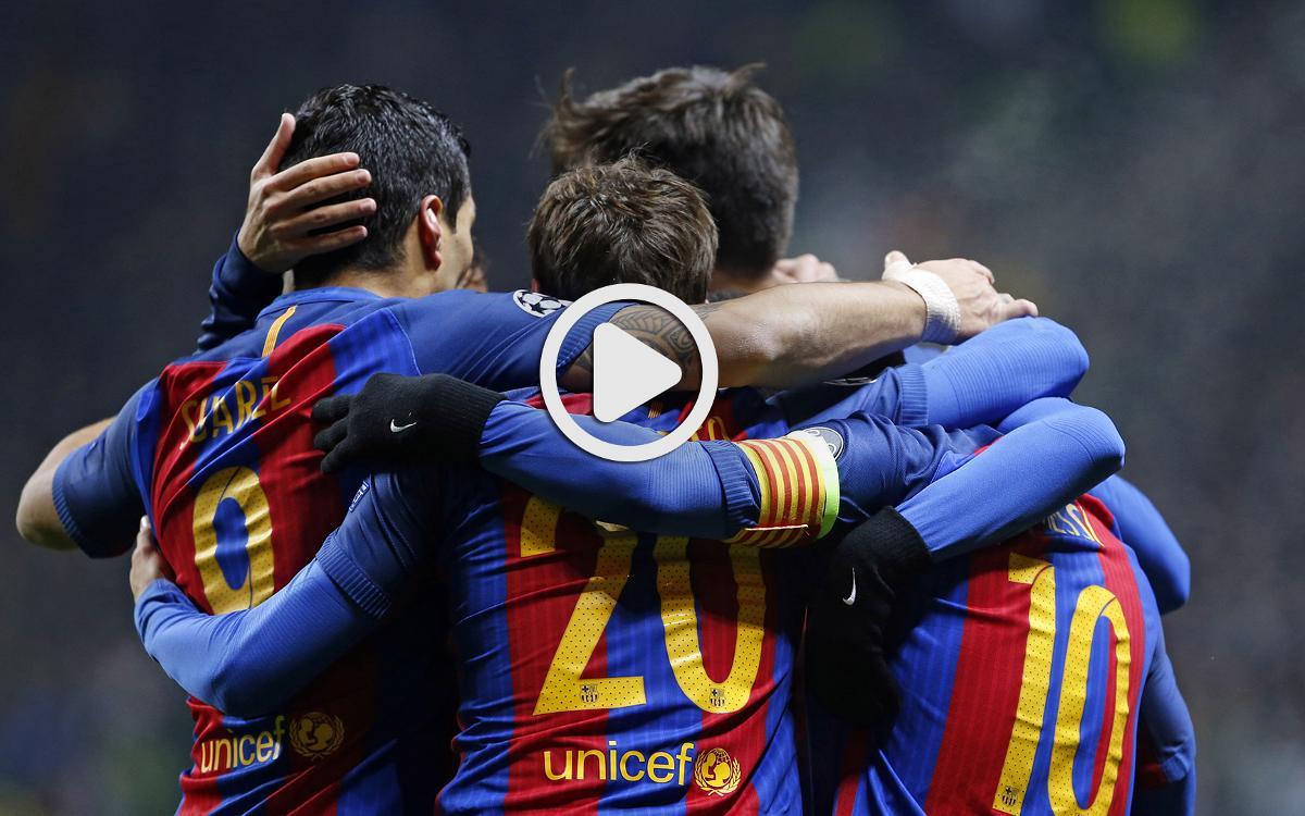 Le résumé de Celtic - FC Barcelone, en vidéo (0-2)