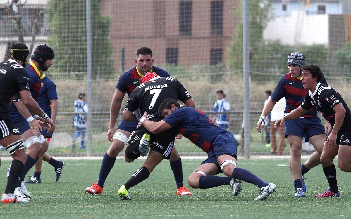 El Barça cede al final contra Ciencias Fundación Cajasol (27 a 18)