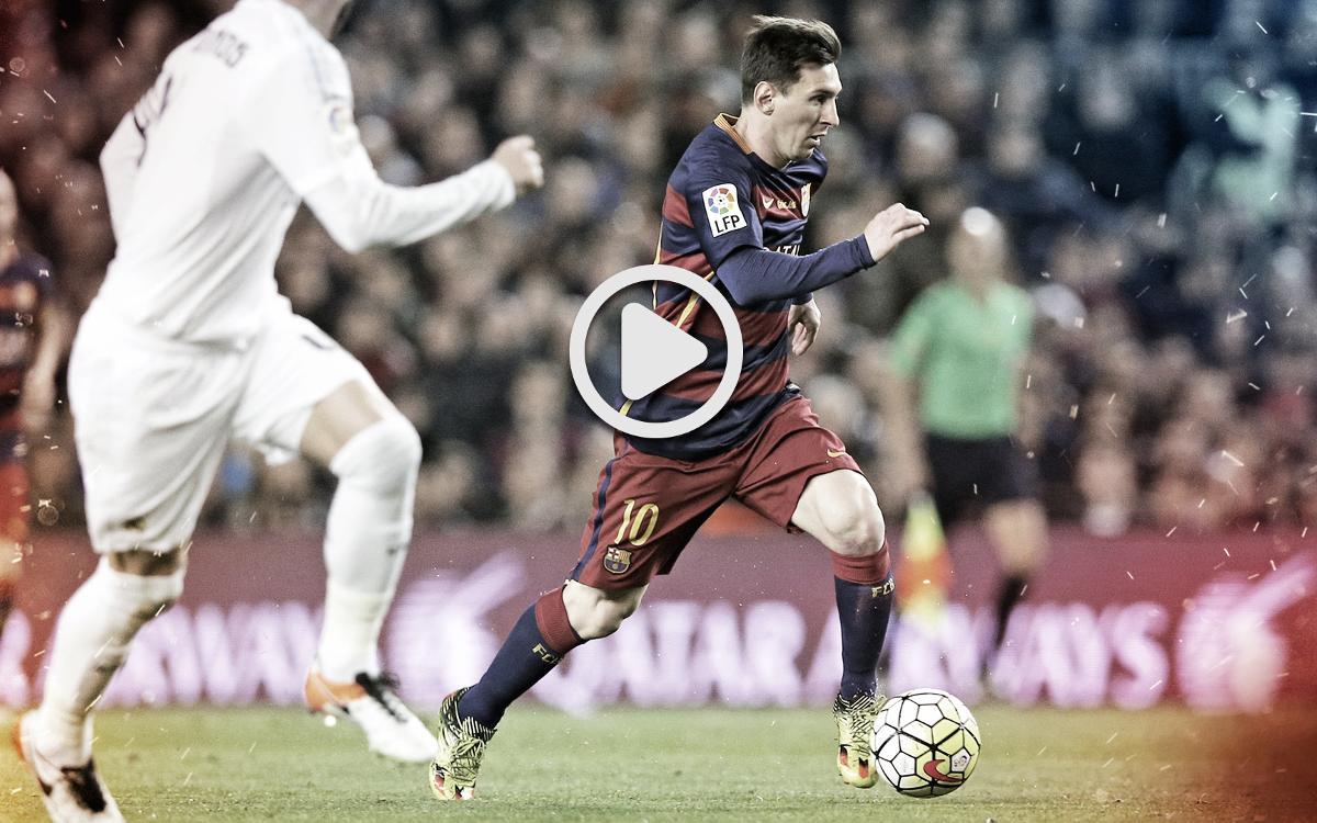 Los goles de Leo Messi contra el Real Madrid en el Camp Nou