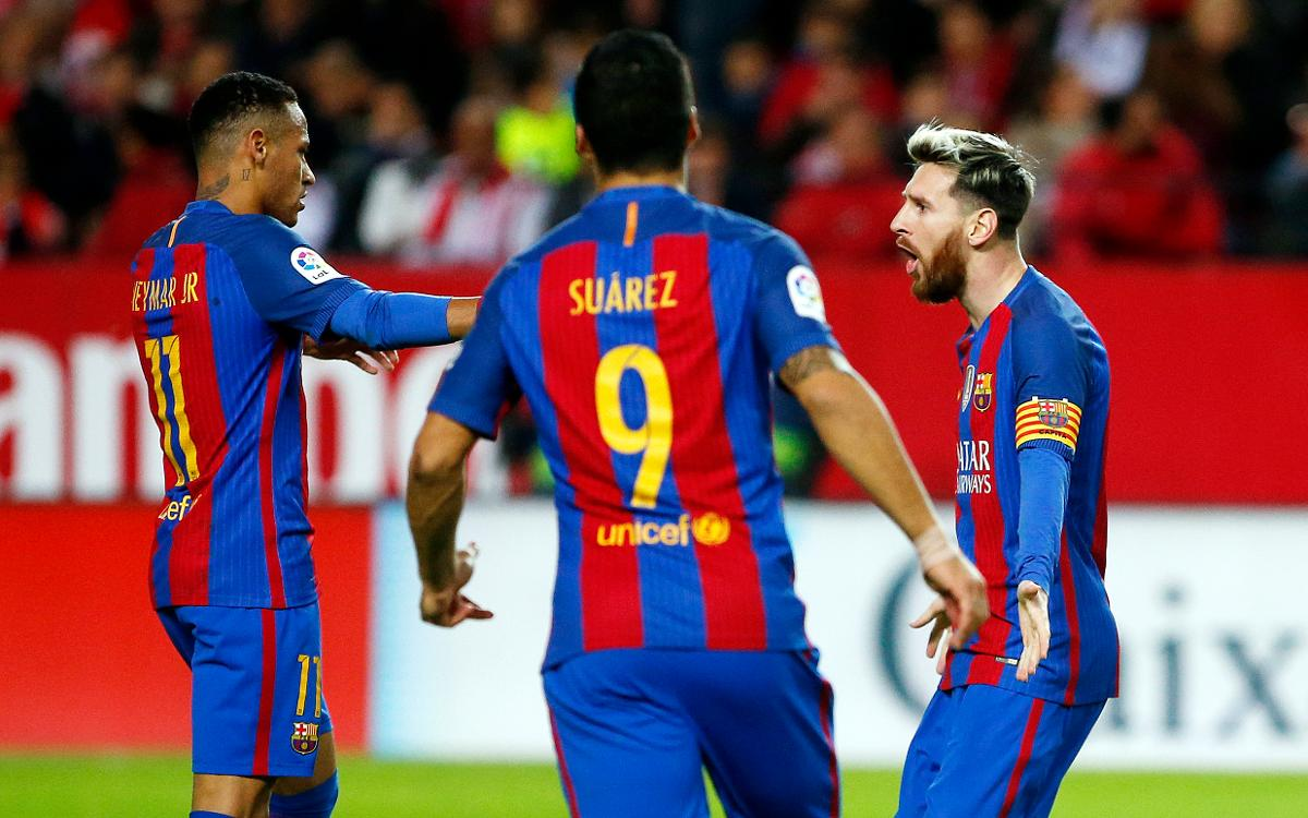 Sevilla v FC Barcelona: Magic Messi inspires comeback win (1-2)