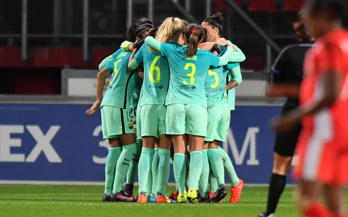 FC Twente – FC Barcelona Femenino: ¡Goleada y a cuartos! (0-4)