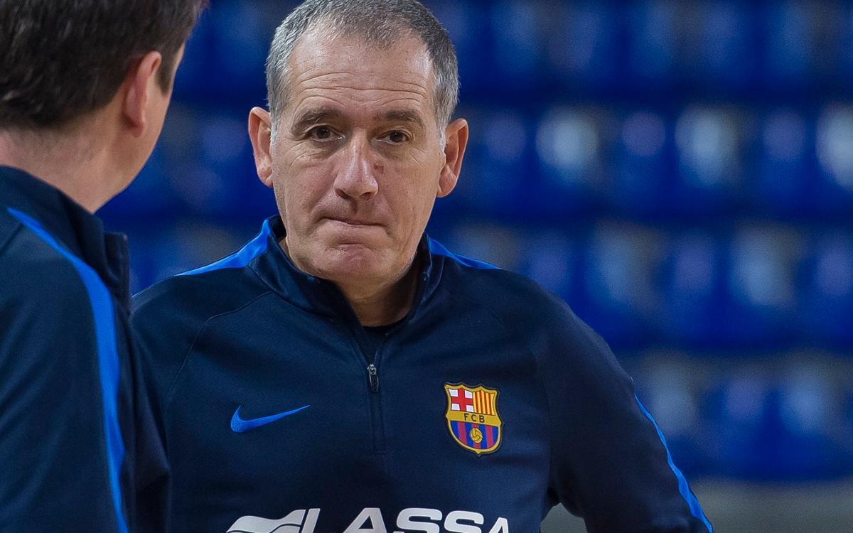"""Andreu Plaza: """"Ja toca pensar només en Santiago"""""""