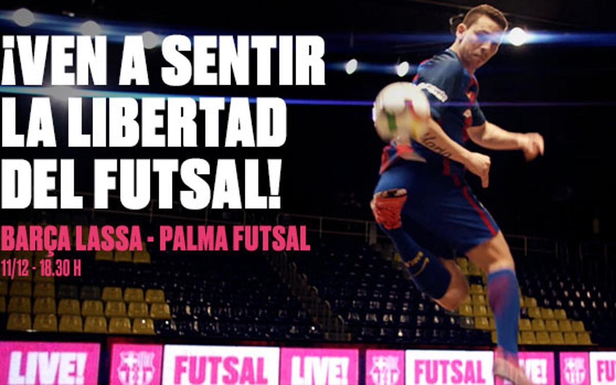 El Barça de Fútbol Sala estrena anuncio