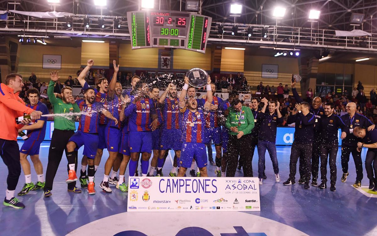 FC Barcelona Lassa - BM Granollers: ¡Campeones de la Copa Asobal! (30-25)