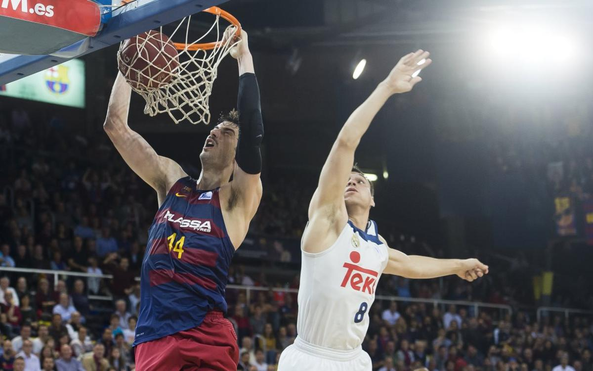 FC Barcelona Lassa - Real Madrid: Classic performance in the Clásico (85-75)