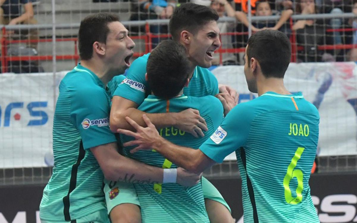 Movistar Inter - FC Barcelona Lassa: ¡Asaltado el liderato! (3-4)