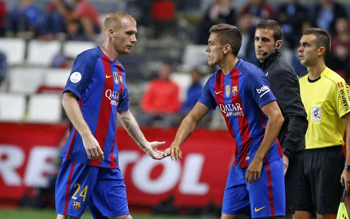 FC Barcelona's Jérémy Mathieu out for 15 to 20 days