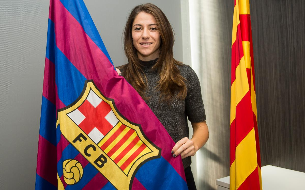 Vicky Losada excited to be back at FC Barcelona