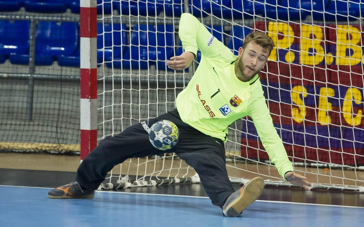 Naturhouse La Rioja v FC Barcelona: Strong effort to earn the points (22-24)