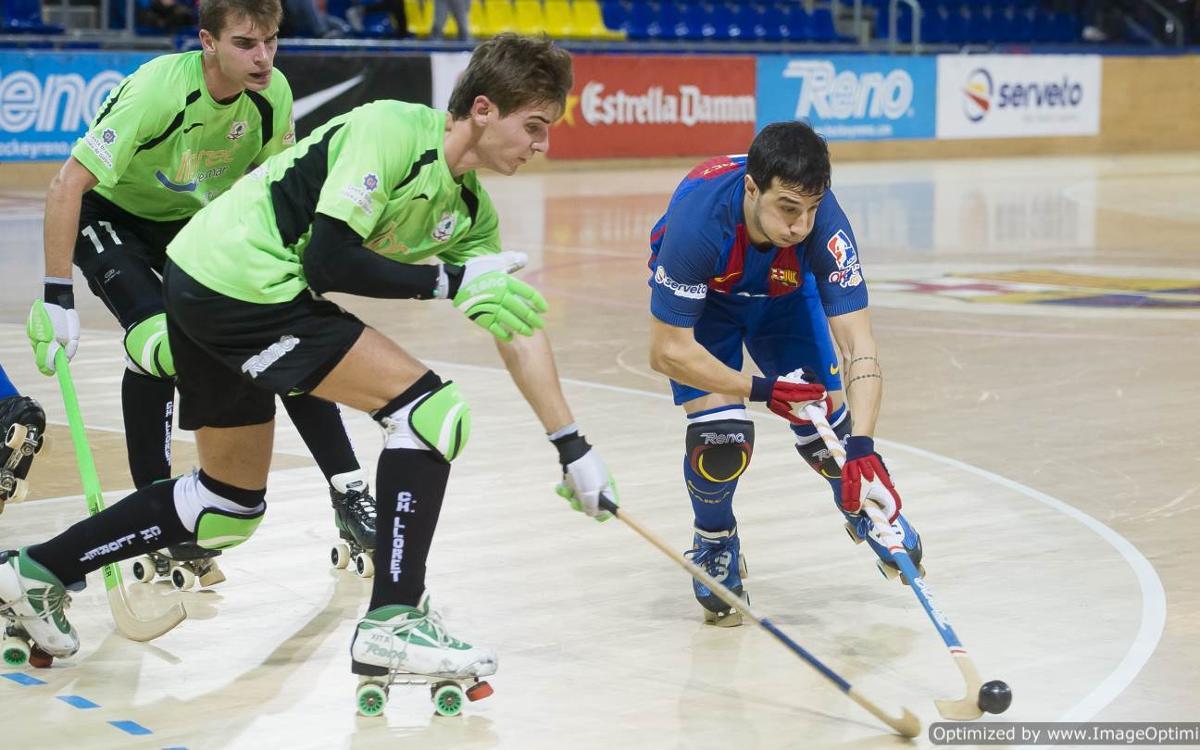 Lucas Ordoñez, baja por una lesión en el pie izquierdo
