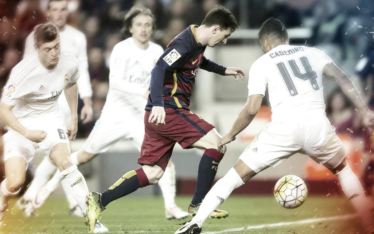 Leo Messi's goals against Real Madrid at Camp Nou