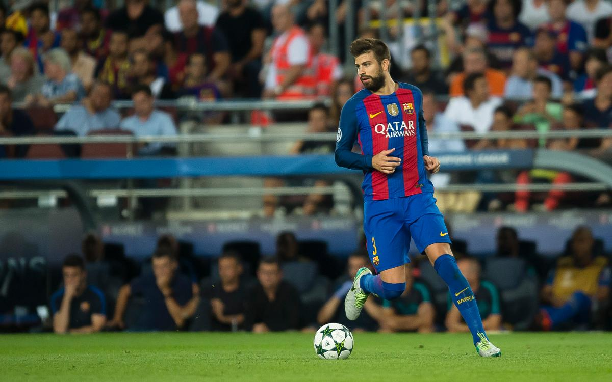 Gerard Piqué, millor jugador català de la temporada 2015/16