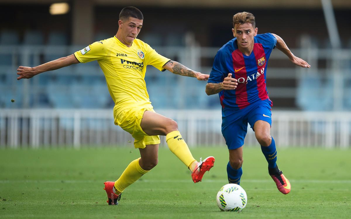 FC Barcelona B v Villarreal B: Late goal earns third straight win (3-2)