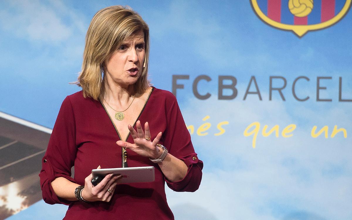 'Adolescentes en el Barça, qué maravilla'
